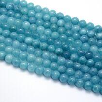 Kék kvarc ásványgyöngy (8mm)/10db