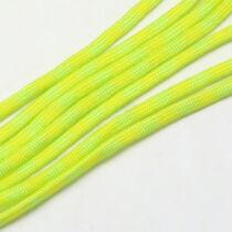 Neonzöld-sárga paracord zsinór (2mm)