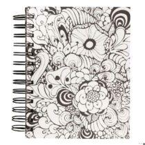 Tangle Memory Journal Orchid ,15.5x18cm, kraft,