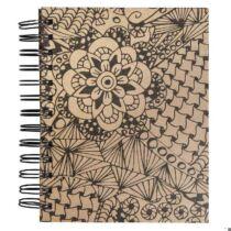 Tangle Memory Journal Cameo,15.5x18cm, kraft,