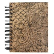 Tangle Memory Journal Jungle,15.5x18cm, kraft,