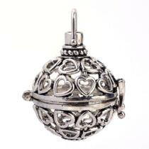 Antikolt ezüst angyalhívó (11)