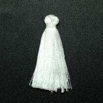 Fehér színű zsinórbojt (40mm)