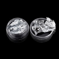 Ezüst fólia díszítő elem