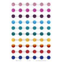 Glitter-1 Üveglencsés ékszerpapír 12mm 10 féle minta A5