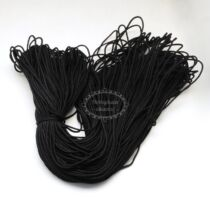 Fekete színű paracord zsinór (2mm)