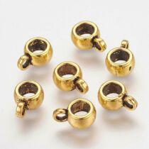 Antikolt arany színű medáltartó (9x6mm)