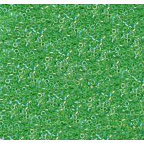 Toho treasure fűzöld közepű áttetsző AB (A775)