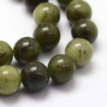 Chinese Jade ásványgyöngy (8mm)/10db