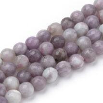 Violet stone  ásványgyöngy (8mm)/10db