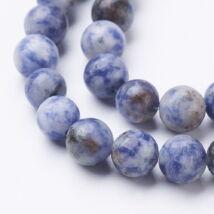 Blue Spot Stone ásványgyöngy (8mm)/10db