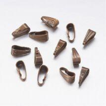 10db bronz színű medáltartó (9x4mm)