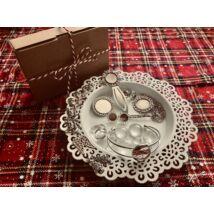 Antikolt ezüst színű alkotócsomag (6)
