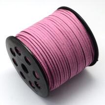 Fáradt rózsaszín hasított bőrszál (3mm)