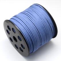 Búzavirág kék hasított bőrszál (3mm)