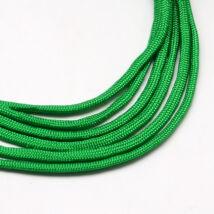 Sötét zöld paracord zsinór (4mm)