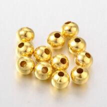 10db Arany színű golyó alakú köztes (8mm)