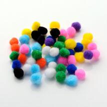 10db világoslila pompom (10mm)