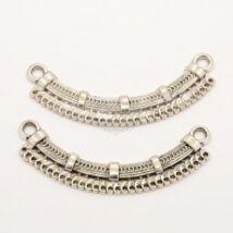 Antikolt ezüst színű félköríves továbbépíthető elem