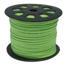 Halvány zöld bőrszál (3mm)