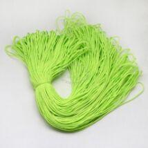Neon zöld paracord zsinór (2mm)