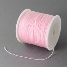 Halvány rózsaszín nejlon zsinor (0,5mm)