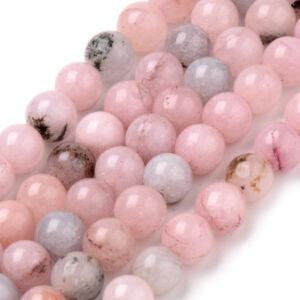 Cherry Blossom Jasper ásványgyöngy (8mm)/10db