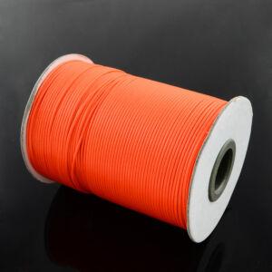 Neon narancssárga viaszolt szál (1mm)