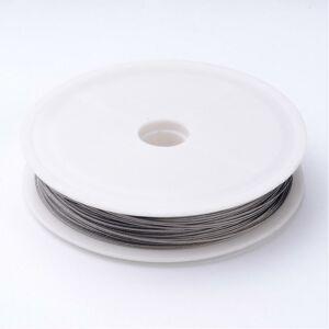 Ezüst színű sodrony (22m)