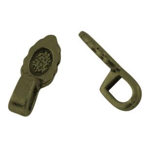 Antikolt bronz színű medáltartó (kisebb)