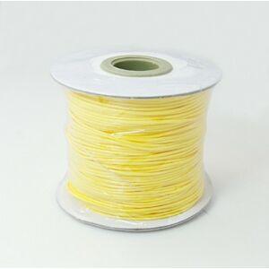 Sárga színű viaszolt szál (1mm)