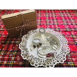 Antikolt ezüst színű alkotócsomag (1)