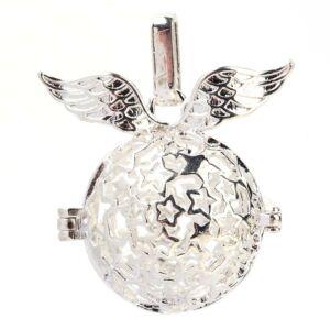 Ezüst színű angyalhívó (6)