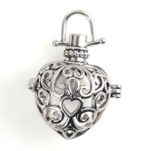 Antikolt ezüst angyalhívó (9)