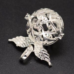Ezüst színű angyalhívó (7)