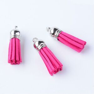 Pink színű bőrbojt (35mm)