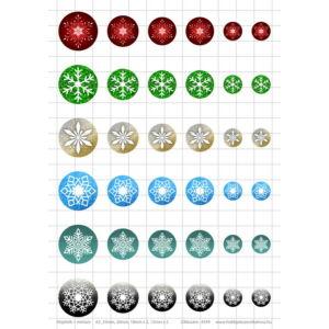 Hópihe-1 Üveglencsés ékszerpapír több méret A5