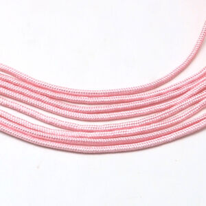 Halvány rózsaszín paracord zsinór (2mm)