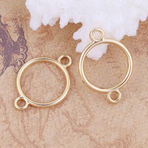 Arany színű kör kapcsolóelem (21x15mm)