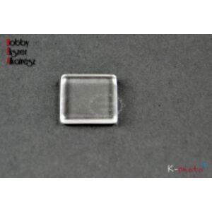 15x15mm-es üveglencse