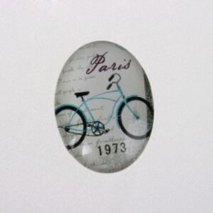 Biciklis üveglencse (13x18mm)