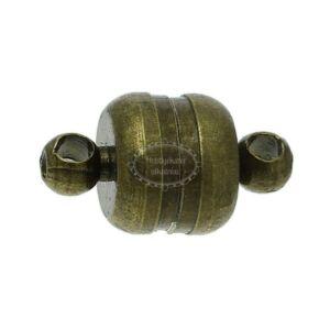 Antikolt bronz mágneskapocs