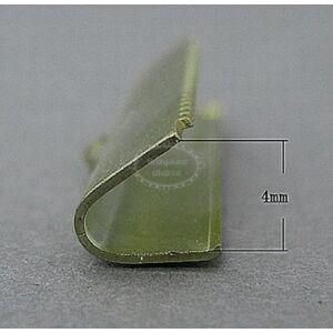 10db antikolt bronz színű szalagvégzáró (25mm)