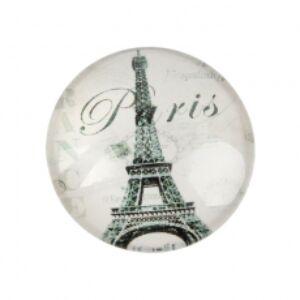 Fekete-fehér Paris üveglencse (20mm)