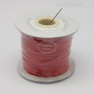 Piros viaszolt szál (1mm)