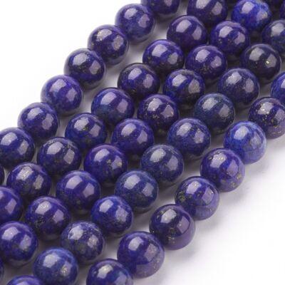 Lapis Lazuli ásványgyöngy (6mm)/10db