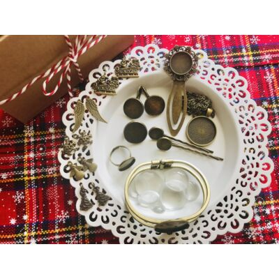 Antikolt bronz színű alkotócsomag (5)