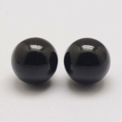 Angyalhívóba való csengő fekete színű golyó (16mm)
