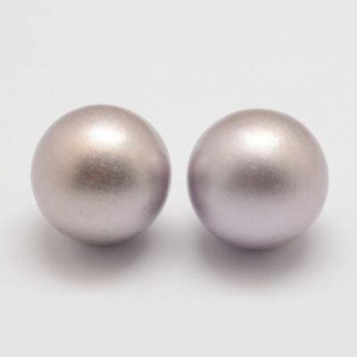 Angyalhívóba való csengő ezüst színű golyó (16mm)