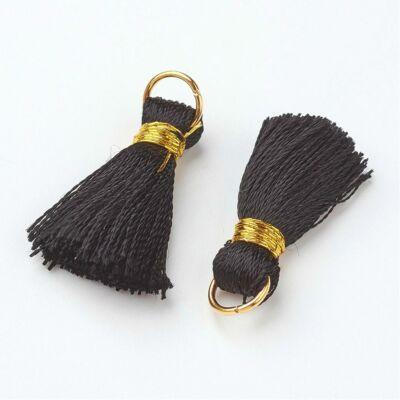Fekete színű cérnabojt (27mm)